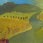 Landschaft_Mohnblumen